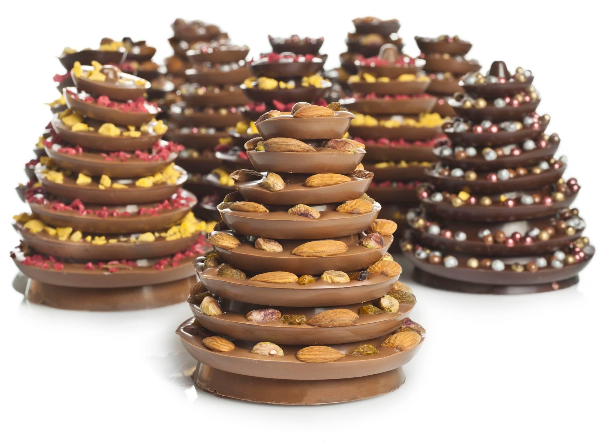 abetos navidad chocolate