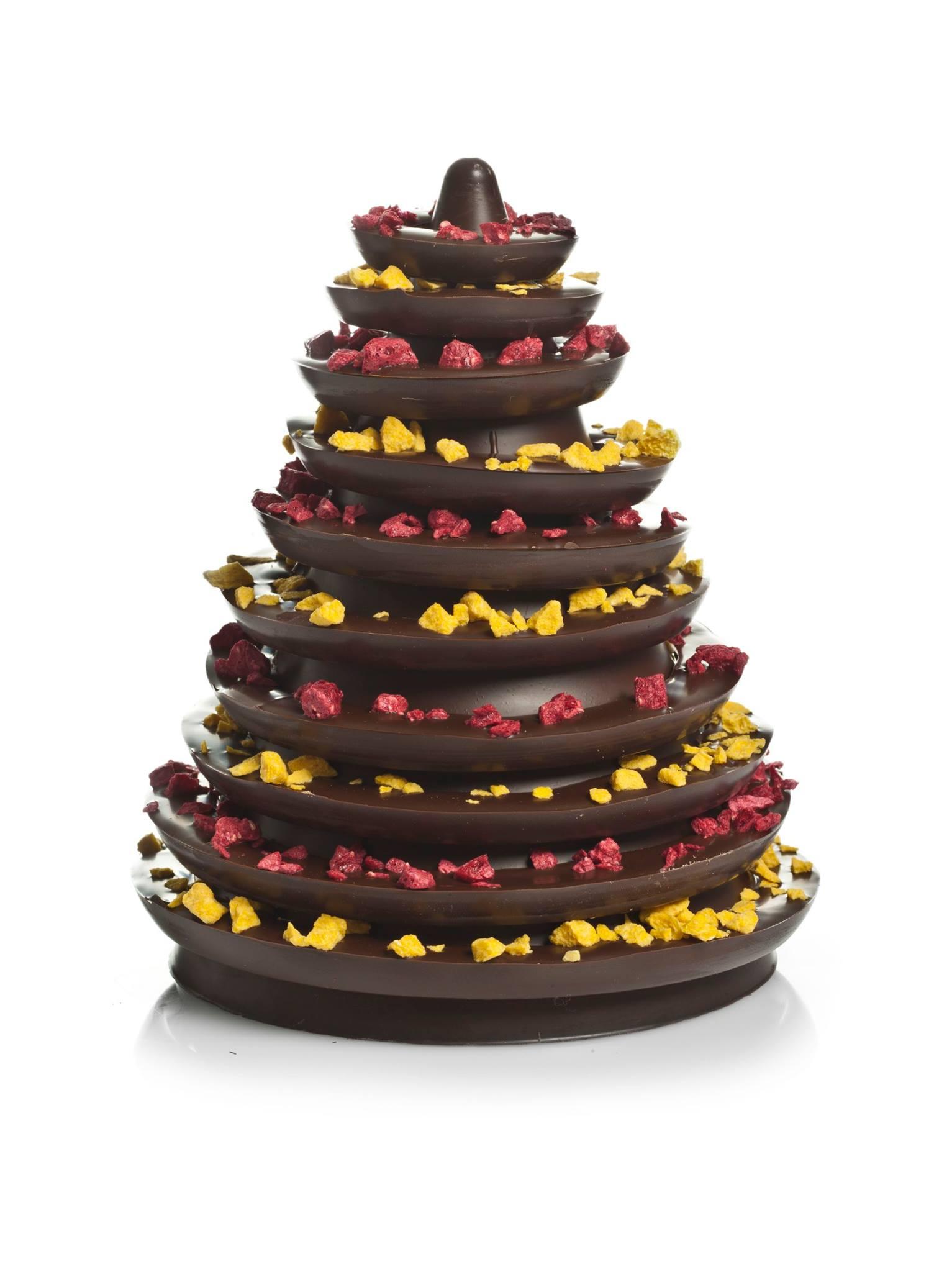 abeto chocolate navidad